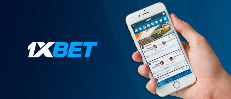Version mobile de 1xBet